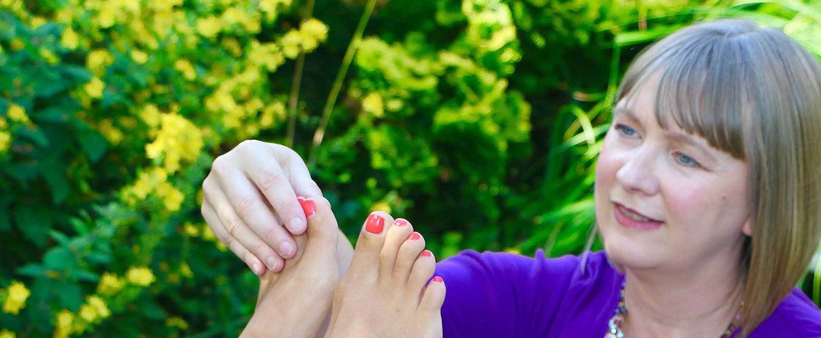 Lisons nos pieds par Jane Sheehan