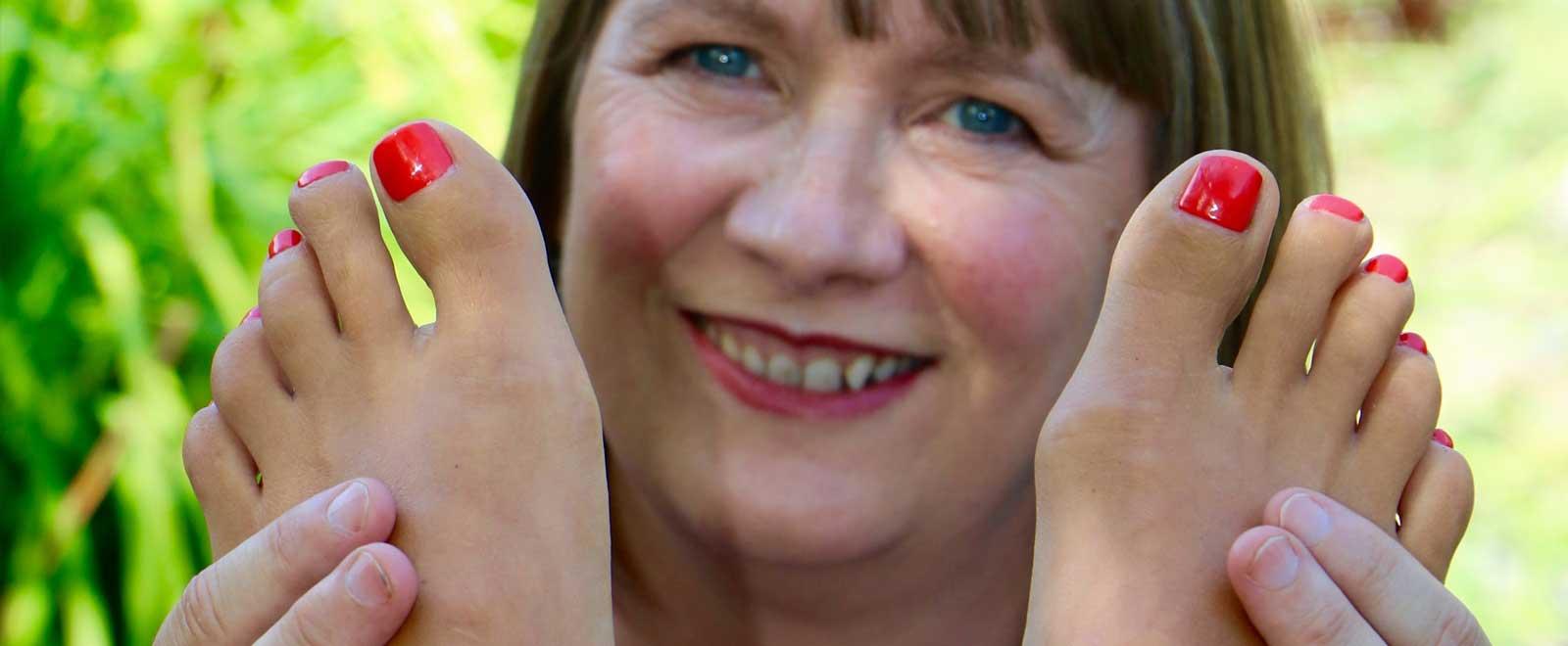 Lisons nos pieds avec Jane Sheehan
